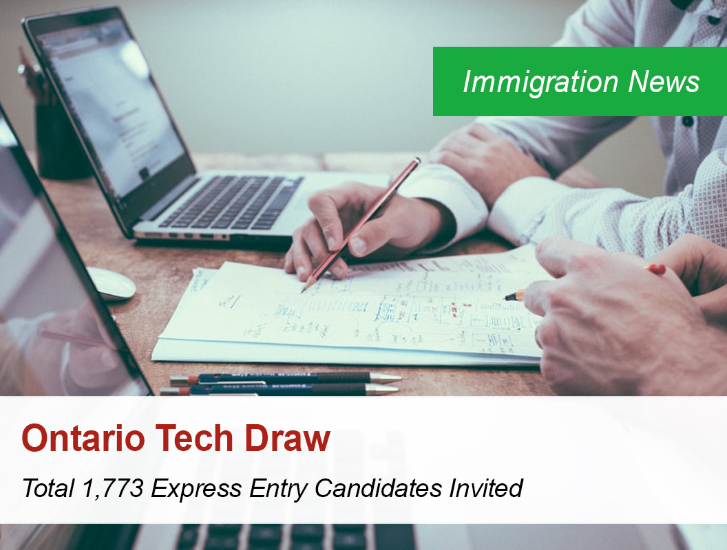 Ontario Tech Draw Total 1 773 Express Entry Candidates Invited Owlspriority Immigration