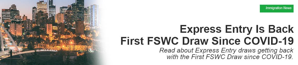 First FSWC Draw Since COVID-19
