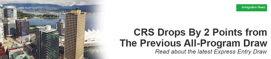 Cut-Off CRS Drops By 2 Points from The Previous All-Program Draw